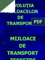 Evolutia Mijloacelor-De Transport