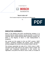 Project Report Bosch