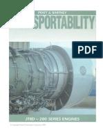 JT8D-200 Transportability