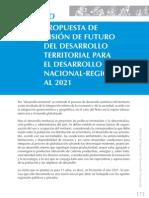 173.propuesta de visión de futuro del desarrollo territorial para el desarrollo