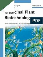 Medicinal Plant Biotechnology-Teaching Book