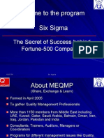 Six Sigma -The Secret of Success Behind the Fortune 500 Companies by GKK Singh