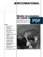 Bladder Accummulators Inspections