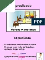 El predicado verbos
