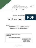 Vasile Viorel Investigarea Crimelor Si Criminalilor in Serie