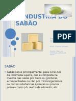 A industria do sabão