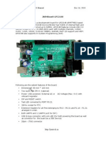 JARM7 LPC 2148 Manual Board