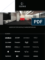 coma2 e-branding Agenturpräsentation