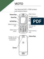 Motorola SLVR L7 UserGuide