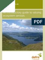 Eco Valuing DEFRA