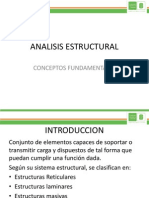 ANALISIS ESTRUCTURAL clase 1