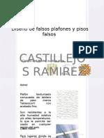 diseño de falsos plafones y pisos falsos