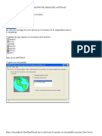 Manual de Acceso y Obtencion de Areas Del Autocad