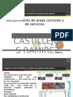 Recubrimiento de Areas Comunes y de servicios