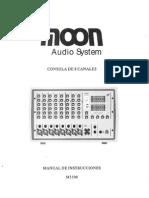 Manual Consola Moon M5508