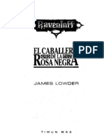 Lowder, James - Ravenloft 2 - El Caballero de La Rosa Negra