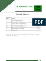 Manual técnico monitor de temperatura TM1 e TM2