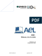 ASM Manual de Utilizare