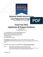 Loan Repayment Application Guidance