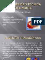 Alimentos Transgenicos (Oscar Suquillo)