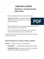 Global Trade and Its Growth