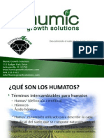 Acido Humico Humic Growth Spanish