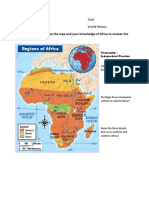 Geography of Africa II