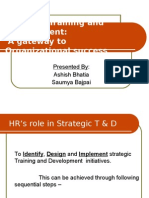 Strategic Training