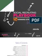 Jobvite Social Recruiting Playbook 2012