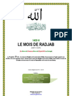 Le Mois de Radjab