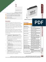 1556 SNAP High-Density Digital Modules Data Sheet
