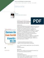 ENFERMAGEM_ DIAGNÓSTICO DE ENFERMAGEM (TAXONOMIA DE NANDA)