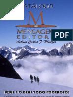 Catálogo Mensagem Editora