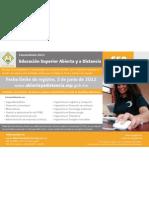 EDUCACION SUPERIOR ABIERTA Y A DISTANCIA