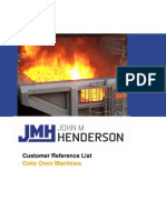 Coke Oven Machines Reference List