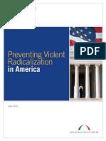 Preventing Violent Radicalization in America