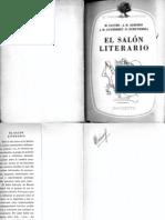 Weinberg, Félix, El salón literario de 1837, Buenos Aires, Hachette, 1958