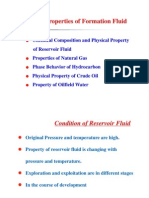 1.1 Chemical Composition and Physical Property of Reservoir Fluid