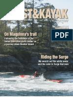Coast&Kayak Magazine Summer 2012