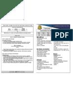 Calendário de Provas e Conteúdos 2° Ano A - II Bimestre/2012