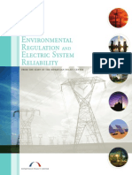 Environmental Regulation and Electric System Reliability