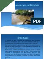 Poluição das águas continentais