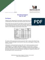 The Monarch Report 5-29-2012