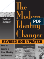 Identity PDF the Modern Identity Changer How to Create and Use a New Identity for Privacy and Personal Freedom Sheldon Charrett
