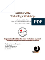 Summer 12 Tech Broc