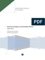 Informede de Direccin Estrategica en Universidades Chilenas 2009-2010