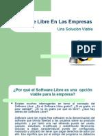 Software Libre en Las Empresas