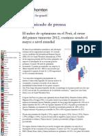 Crecimiento Peru