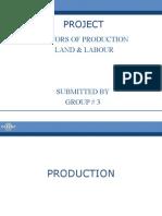 factors of production Final Presentation