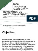 Boletín 7050